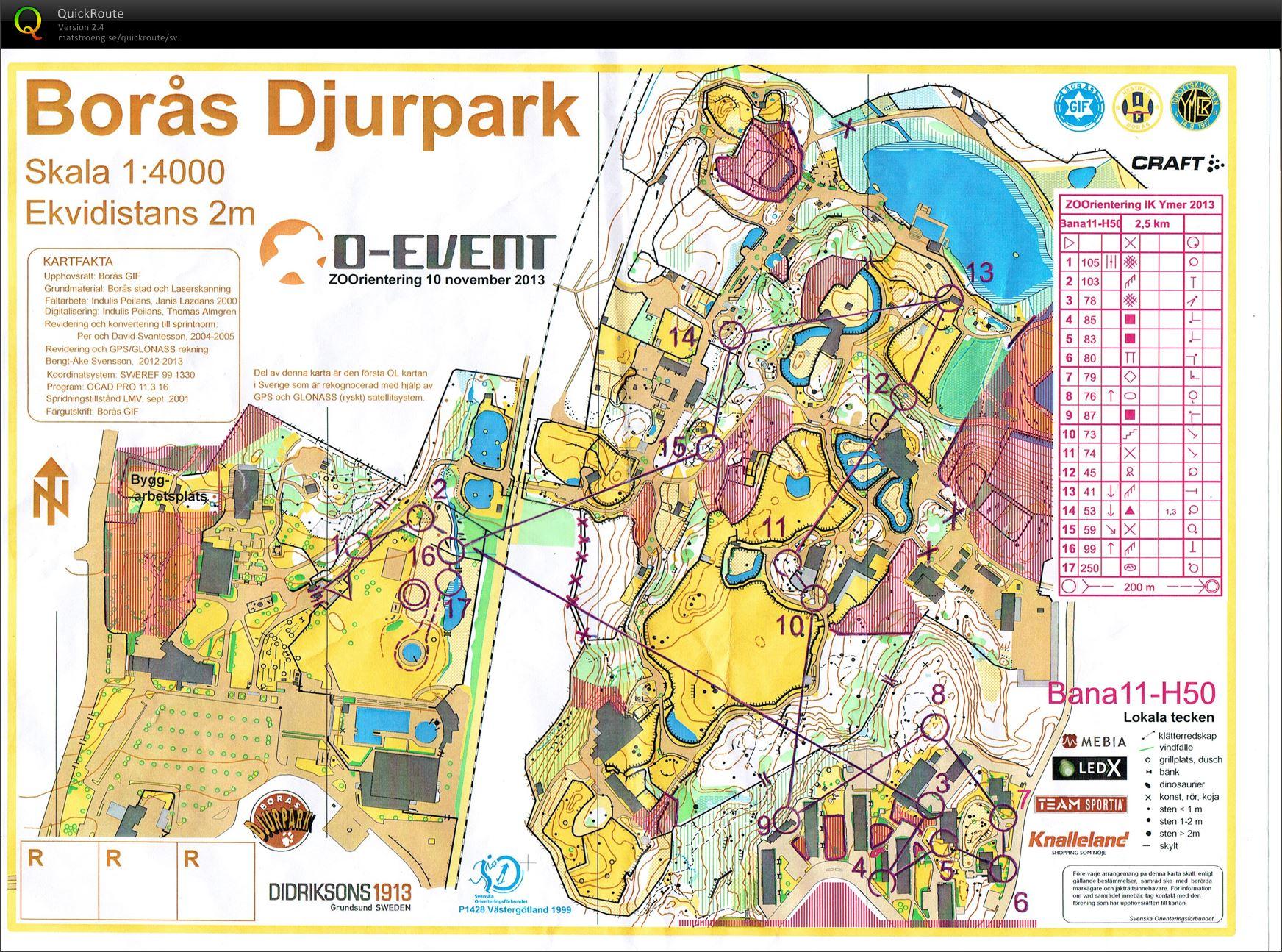 Karta Boras Djurpark.Gustafs Digitala Kartarkiv O Event Zoorientering H50 10 11 2013